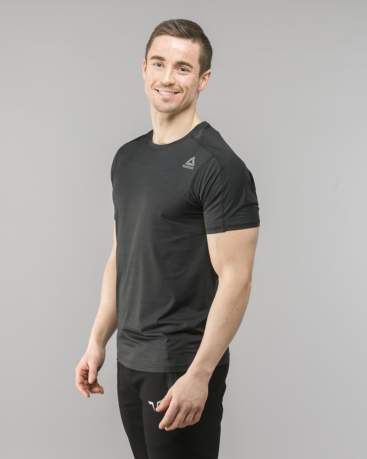 Reebok ActivChill Move T-Shirt – Black cf7877 2
