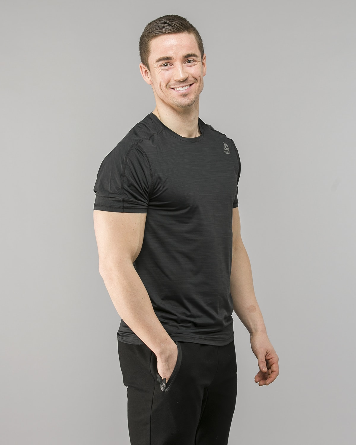 Reebok ActivChill Move T-Shirt – Black cf7877 4