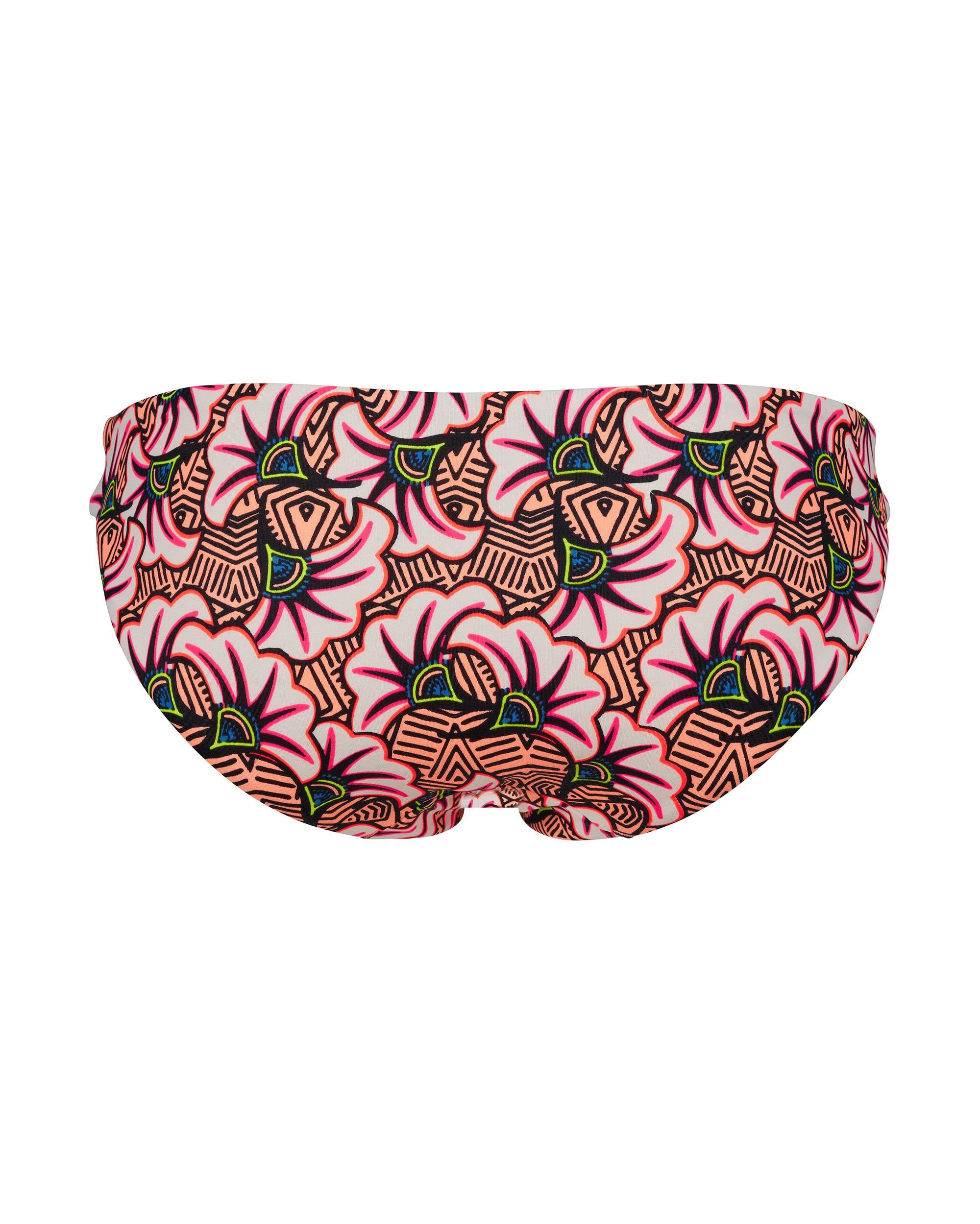 Skiny L. Bikini Briefs Neon Flower - Tropical Neon