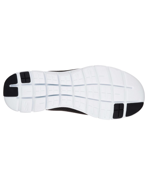 Skechers Mens Flex Advantage 2.0 – Black/White