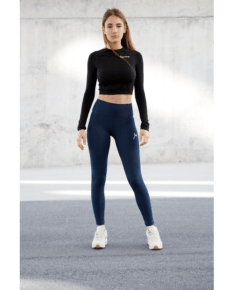 FAMME Essential High Waist Leggings - Midnight Blue