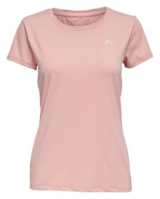 Only Play Clarissa Sports Training Tee - Silver Pink