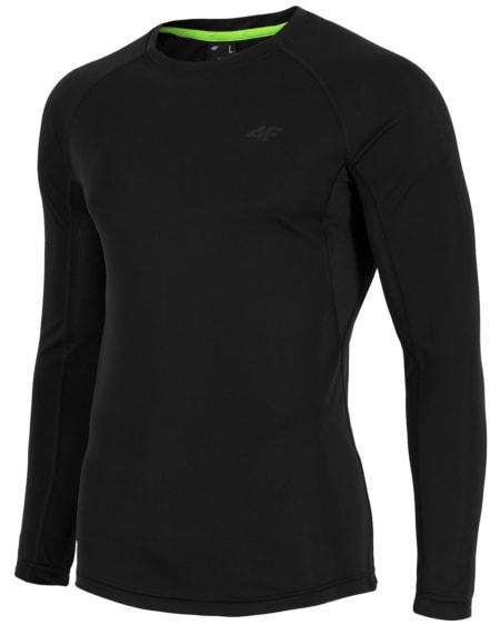 4F Men's Functional Long Sleeve - Black