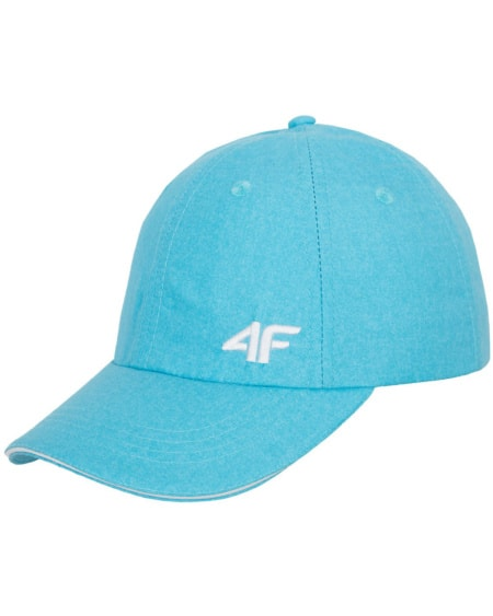 4F Women's Cap - Blue Melange