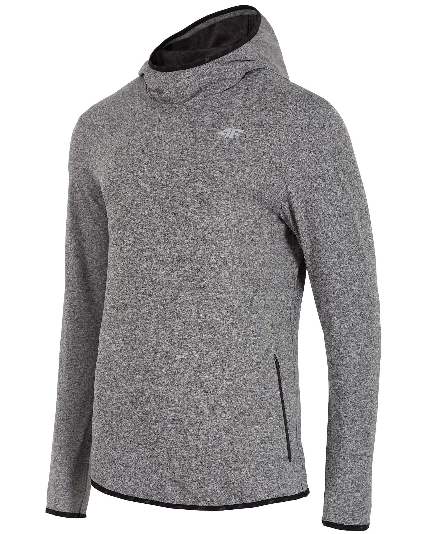 4F Men's Sweatshirt - Light Grey Melange