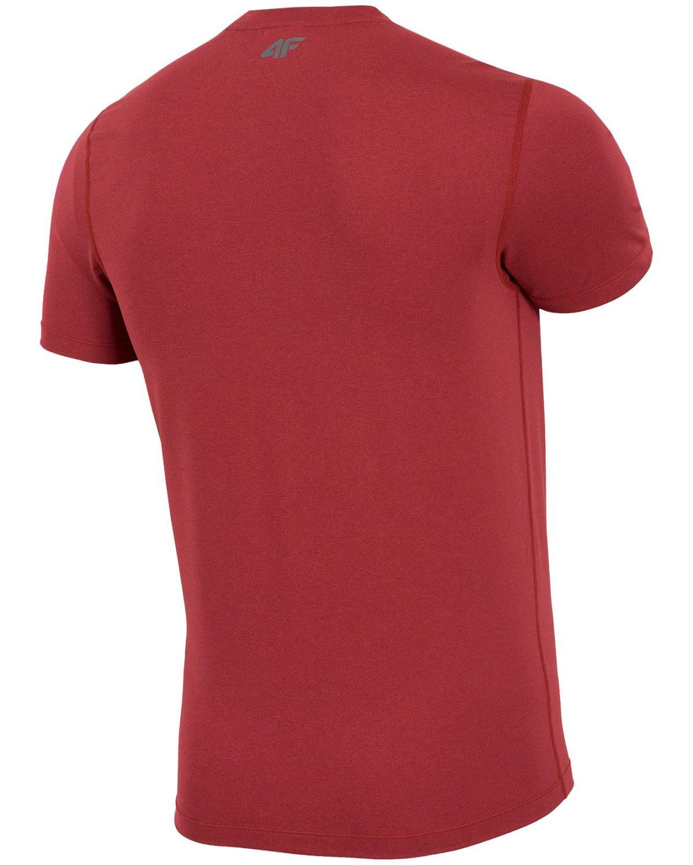 4F Man's Functional T-shirt – Red Melange