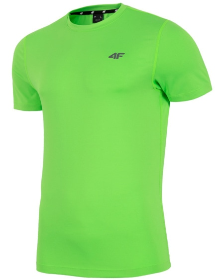 4F Man's T-shirt - Green Neon
