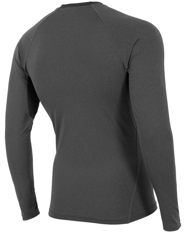4F Man's Long Sleeve – Dark Grey Melange