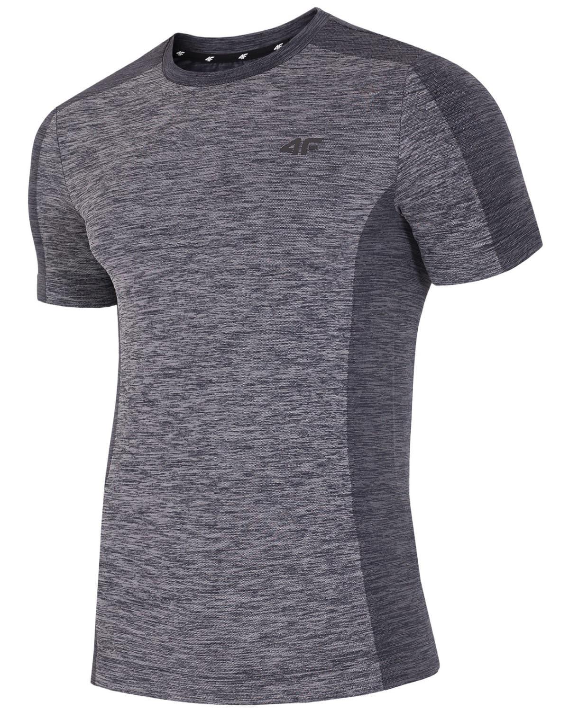 4F Man's T-Shirt – Light Grey Melange