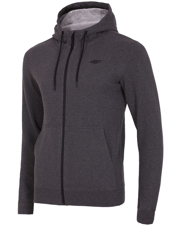 4F Men's Sweatshirt – Dark Grey Melange