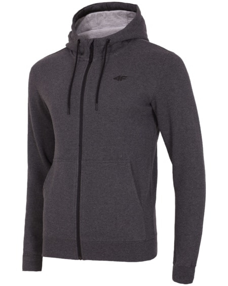 4F Men's Sweatshirt - Dark Grey Melange