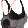 4F Sport Bra - Light Grey Melange