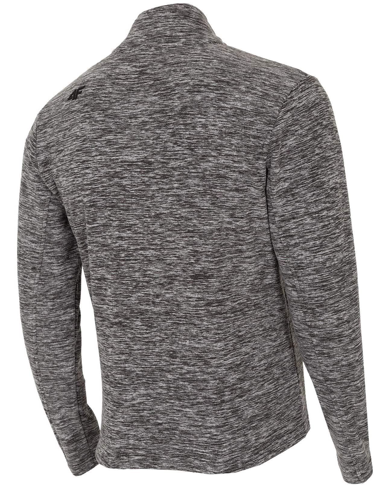 4F Man's Fleece - Dark Grey Melange