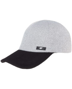 4F Men's Cap - Light Grey Melange