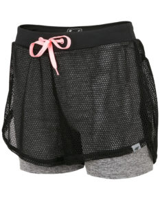 4F Women's Functional Shorts - Dark Gray Melange
