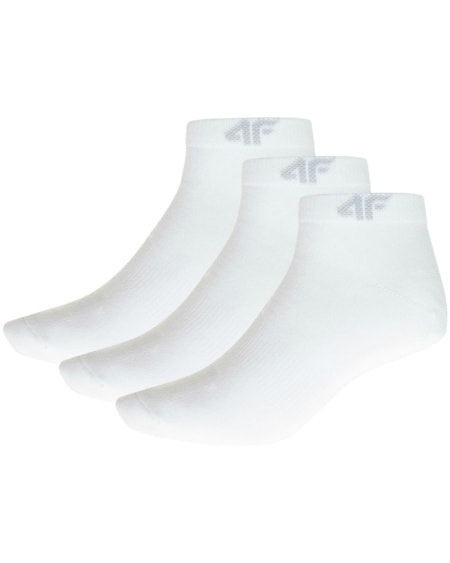 4F Mens Socks White som001