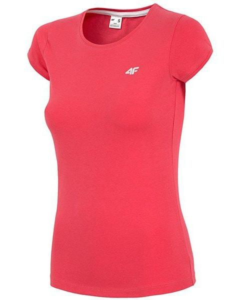 4F Womens T-shirt Red tsd002-62s