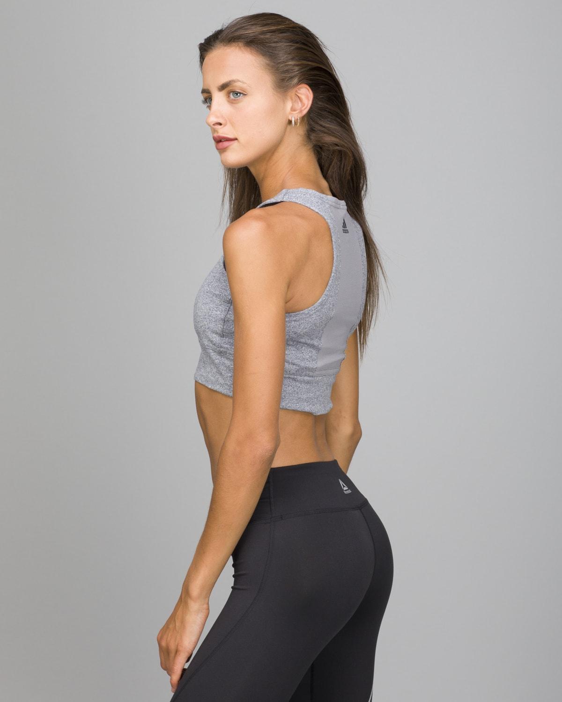 Adidas Crop Top Mlg.Medium grey heather3