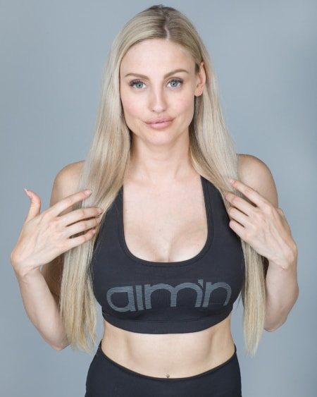 Aim'n Black Reflective Bra 18030005