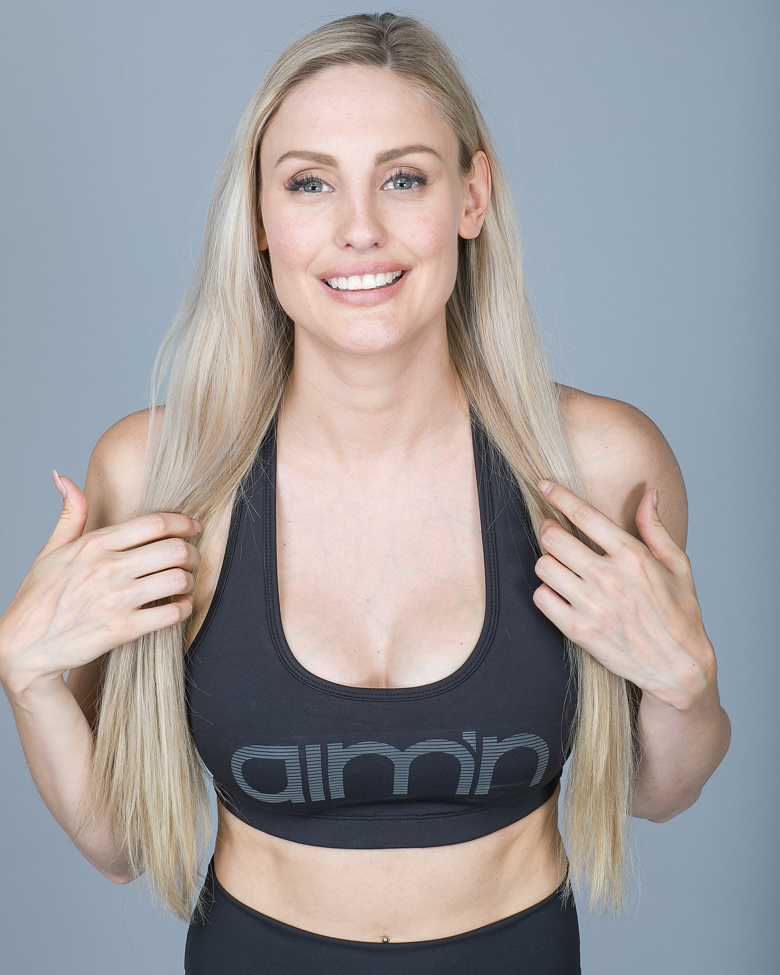 Aim'n Black Reflective Bra 18030005 b