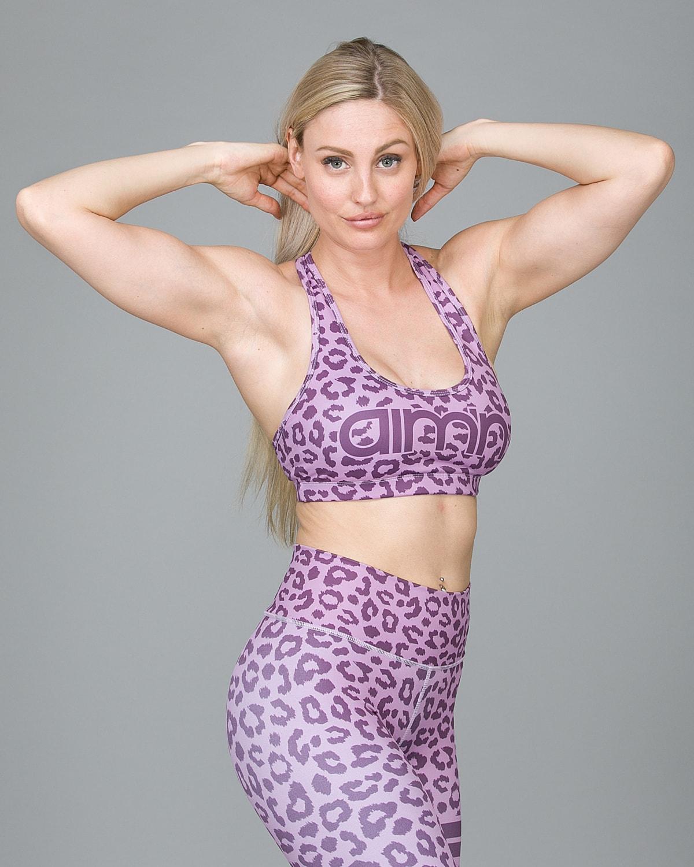 Aim'n Pink Cheetah Bra 18030004