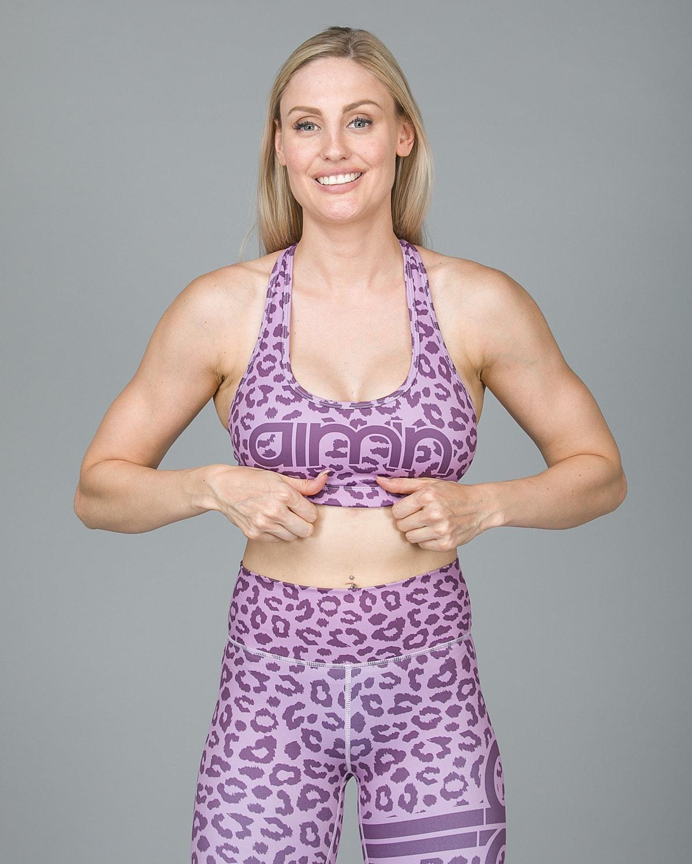 Aim'n Pink Cheetah Bra 18030004 b