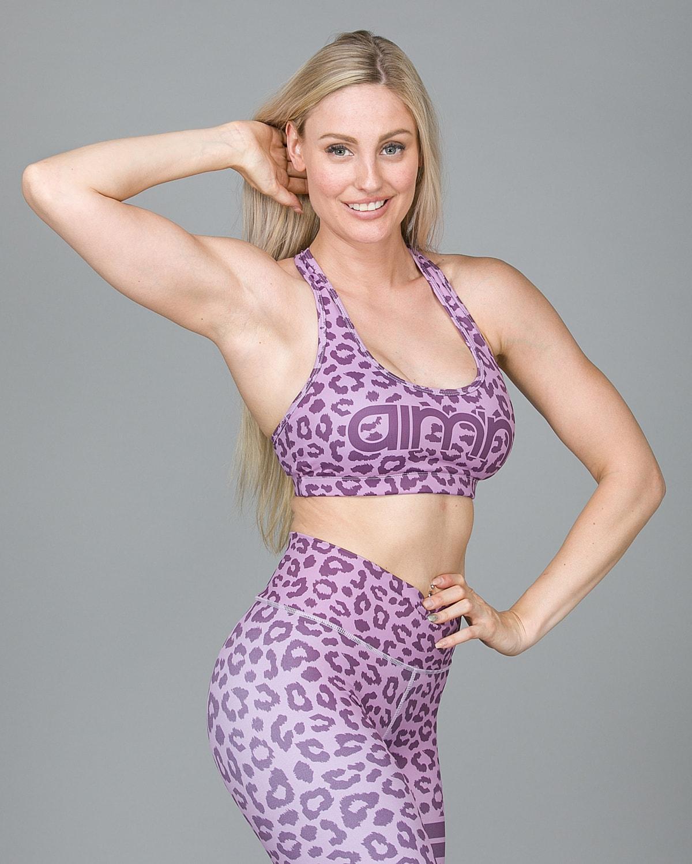 Aim'n Pink Cheetah Bra 18030004 d
