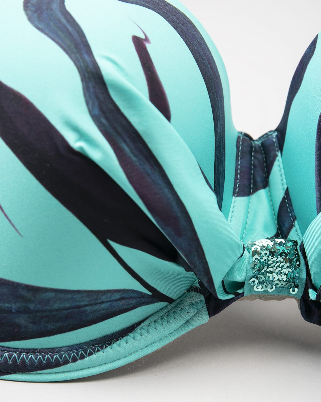 Antigel wood Bikini Top fba4082-15038 – Blue c