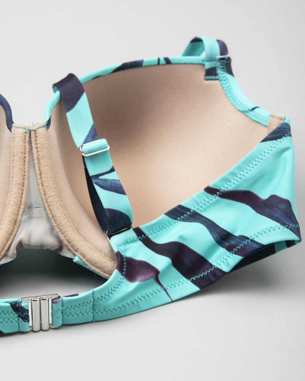 Antigel wood Bikini Top fba4082-15038 – Blue e