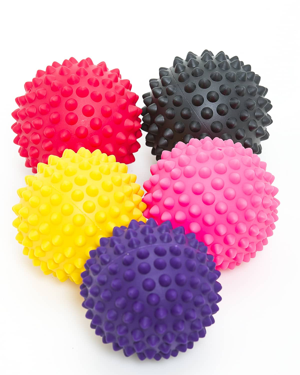 LEVITY Premium Fitness Spiky Trigger Ball a