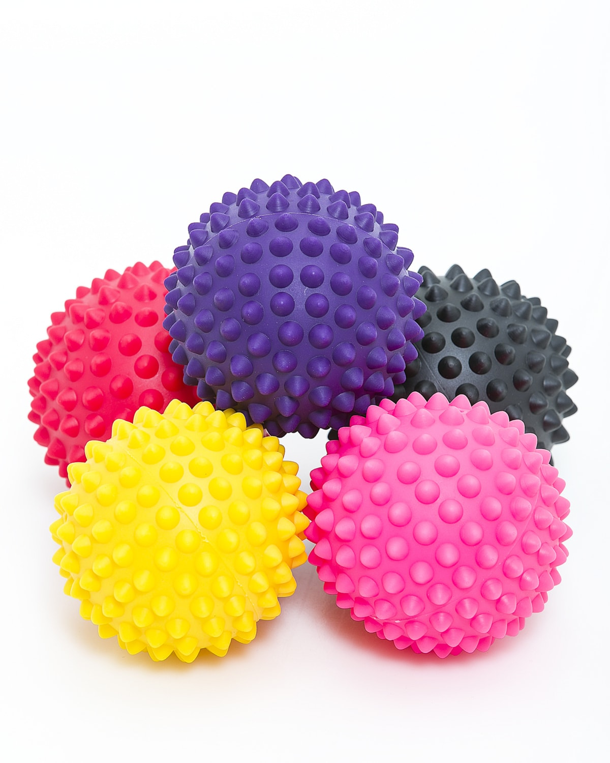 LEVITY Premium Fitness Spiky Trigger Ball b