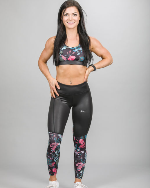 Only Play Blossom 7:8 Aop Training Tights 15148913 and Bra