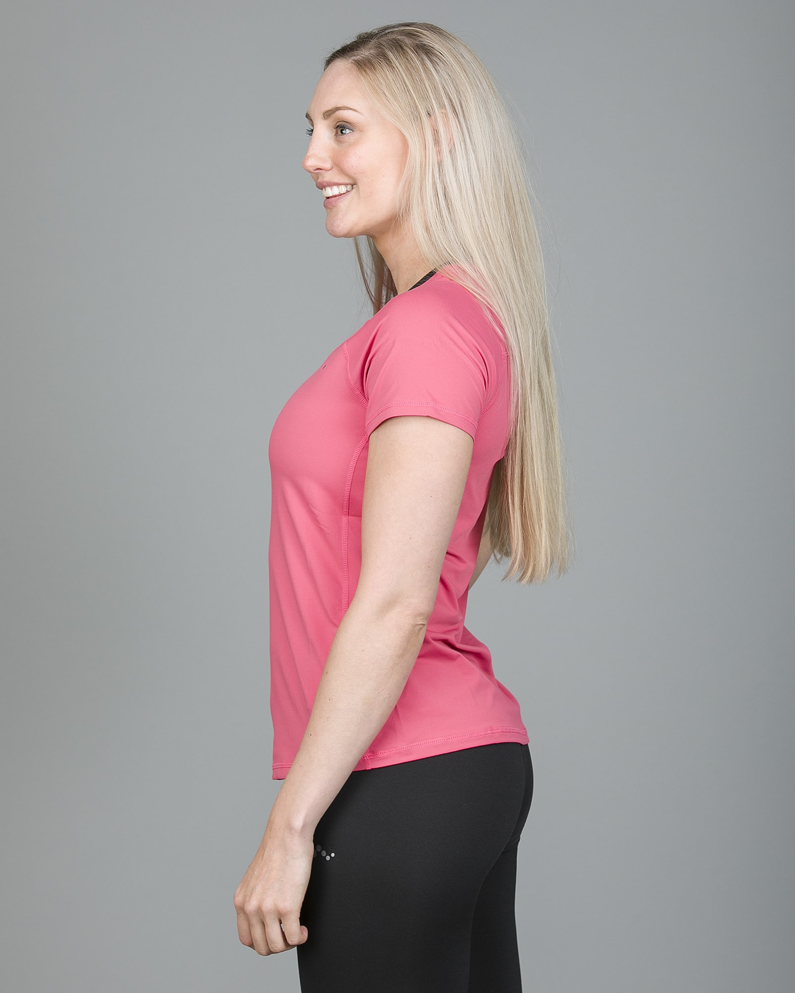 Only Play Rebecca Training Short Sleeve Tee - Fruit Dove 15150640 c