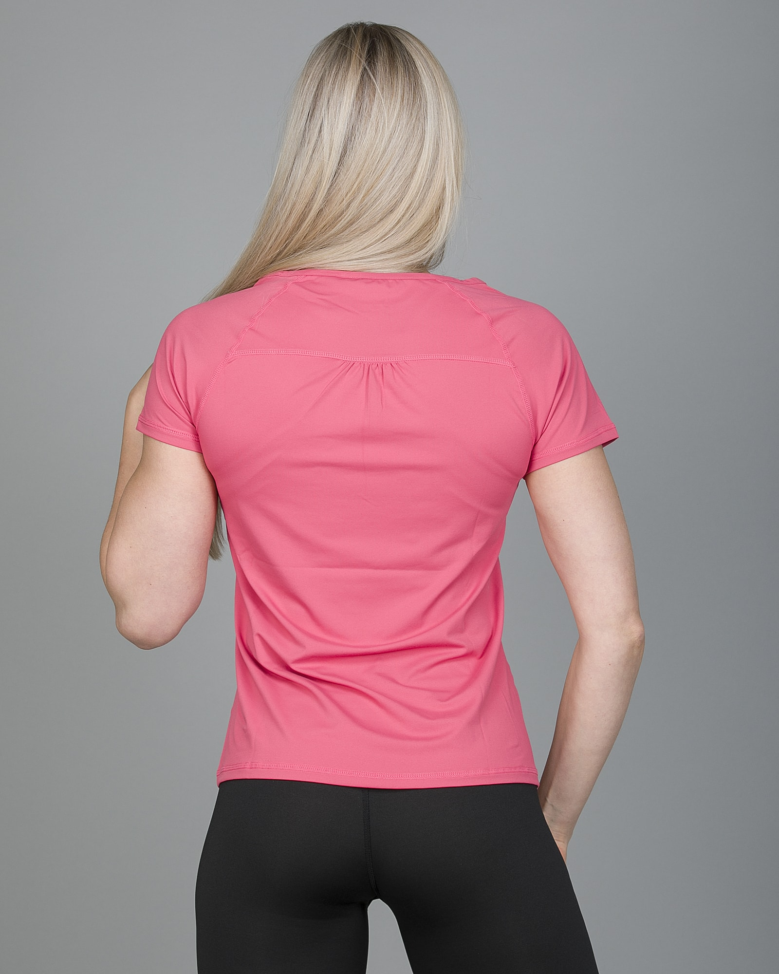 Only Play Rebecca Training Short Sleeve Tee - Fruit Dove 15150640 g