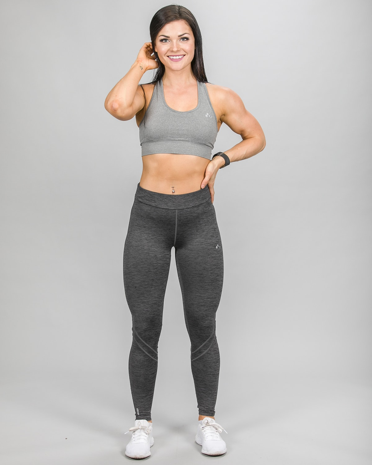 Only Play Staring Mesh Training Tights 15148847 and Daisy Bra 15101974