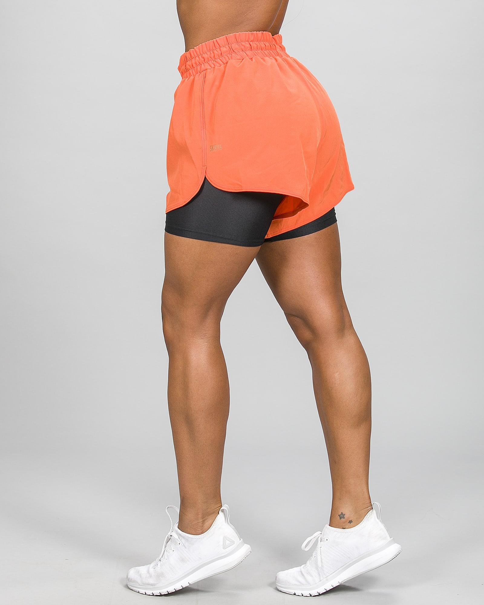 Skiny SK86 Shorts 083111- Blazing Orange c