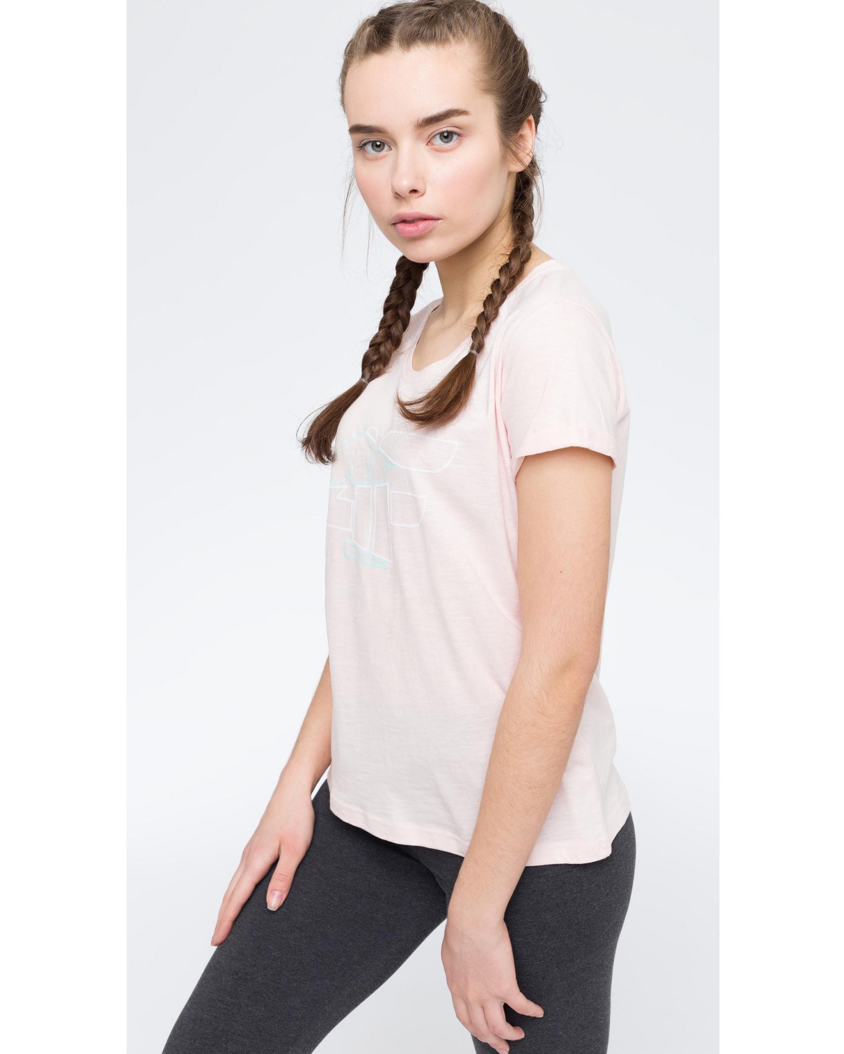 4F Women's T-Shirt - Light Pink