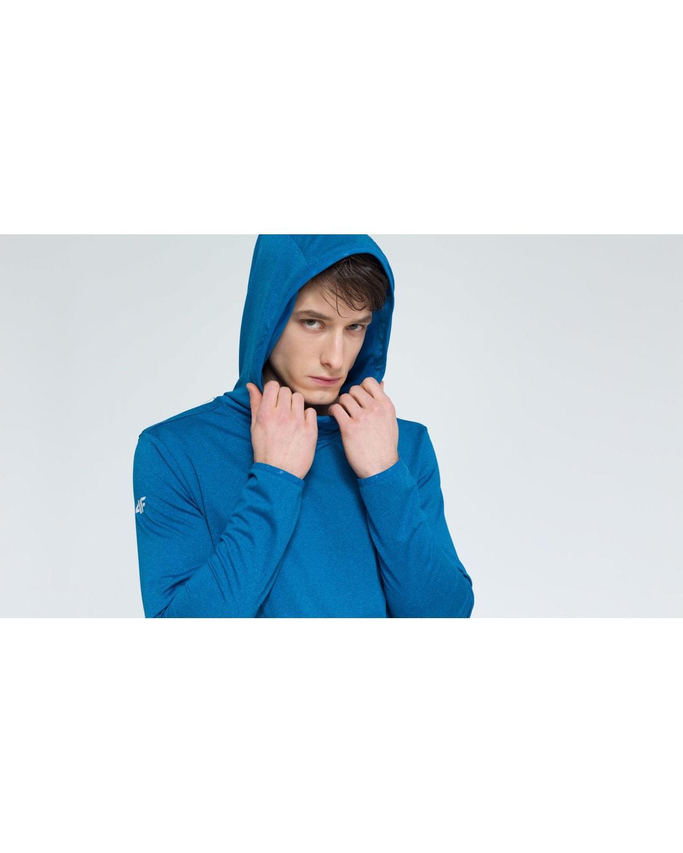 4F Men's Functional Sweatshirt - Denim Melange
