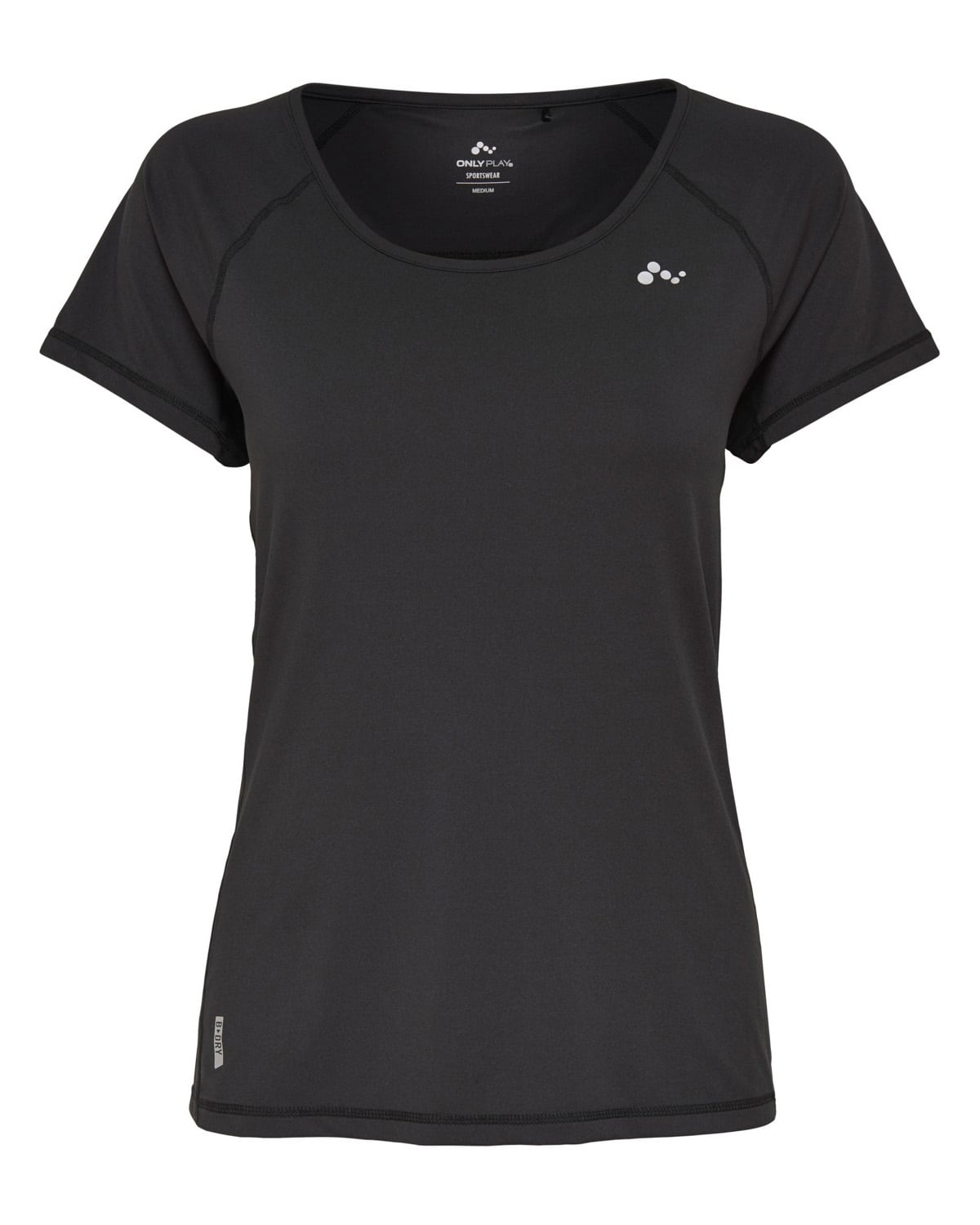 Only Play Rebecca Training SS Tee – Black