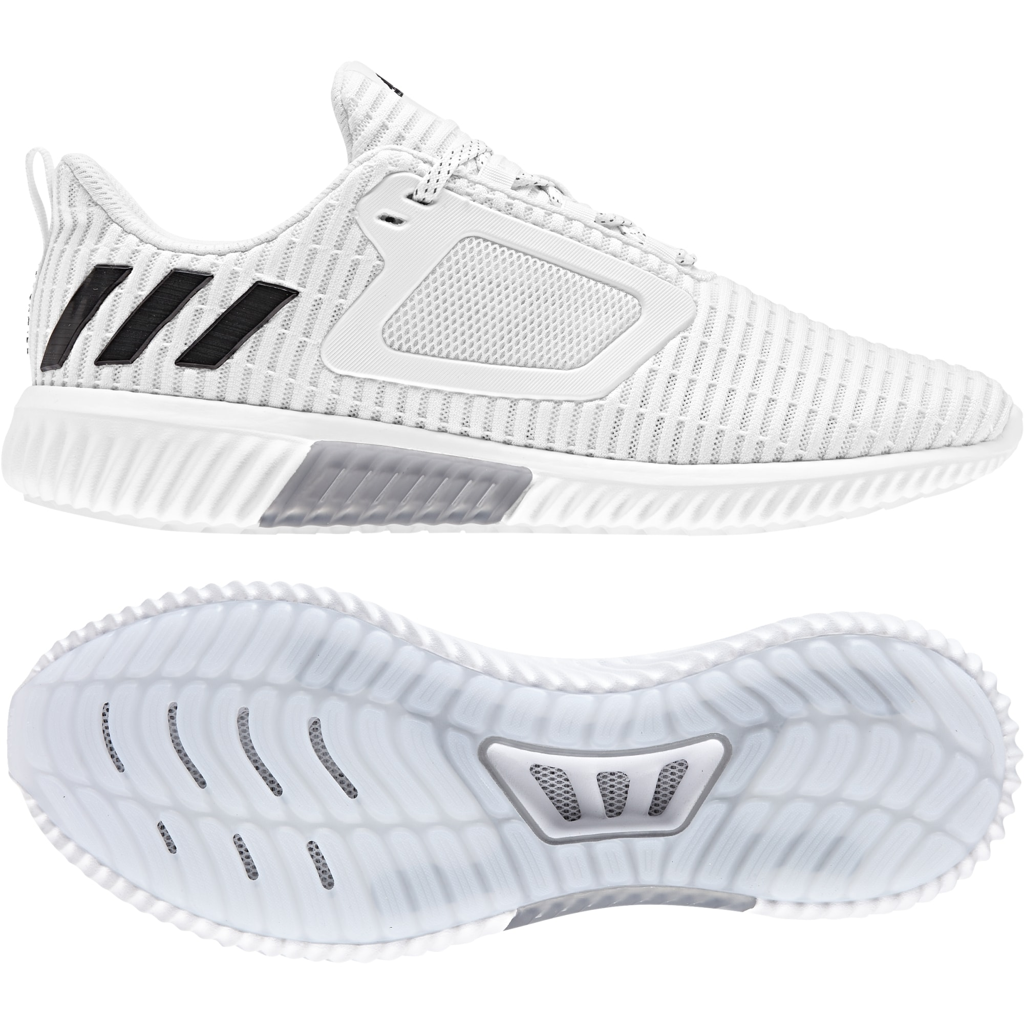 Adidas Climacool Joggesko Whiteblacksilver Tights.no
