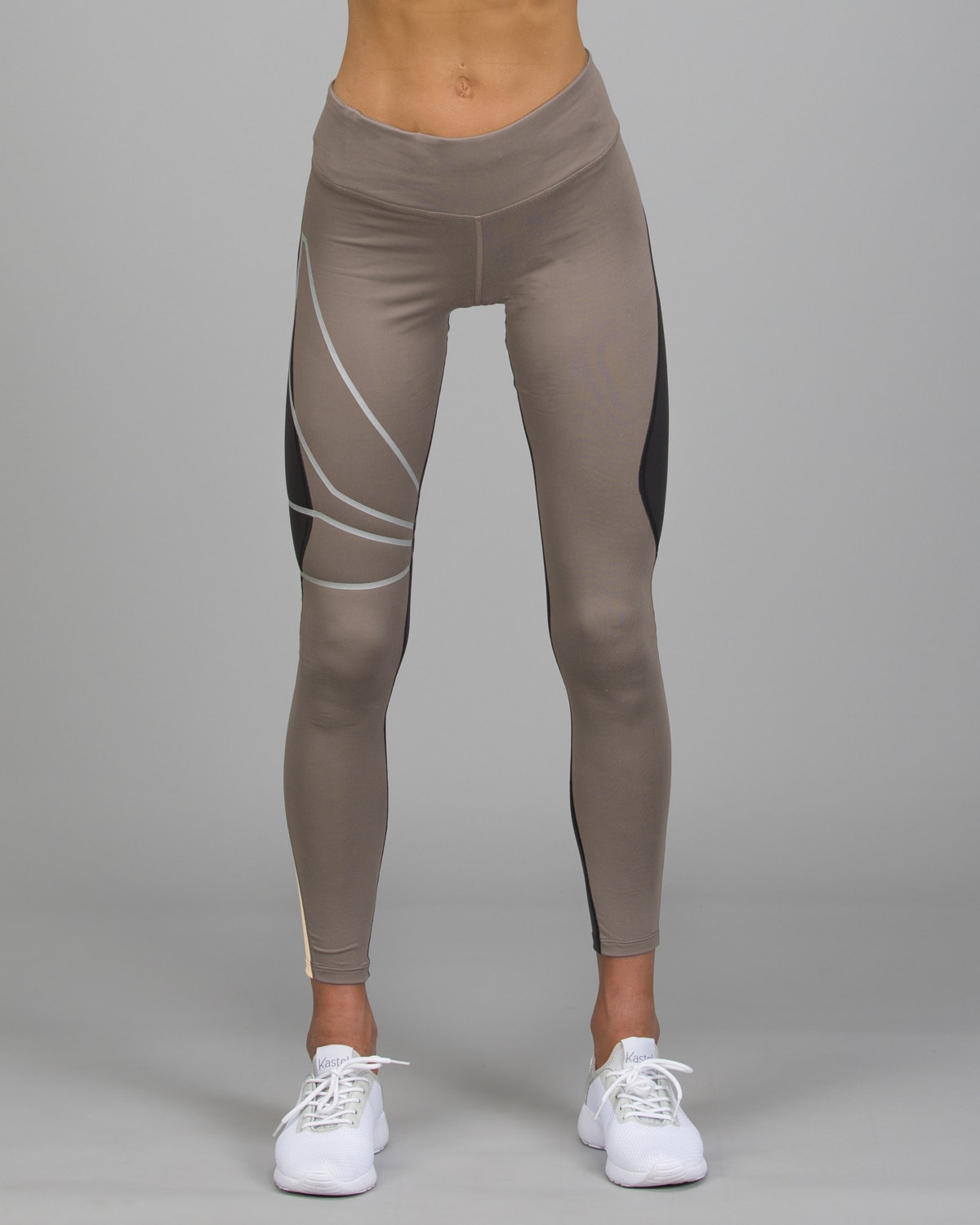 Reebok Running SpeedWick Tights.Smoky Taupe4