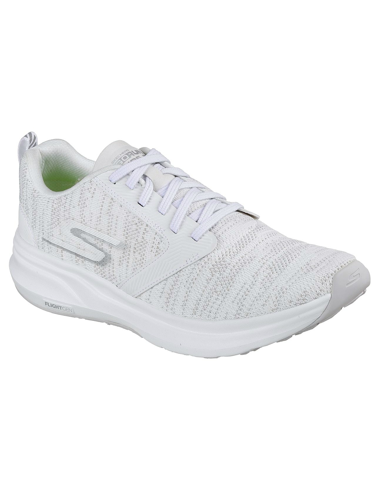 Skechers Womens Go Run Ride 7 white 15200