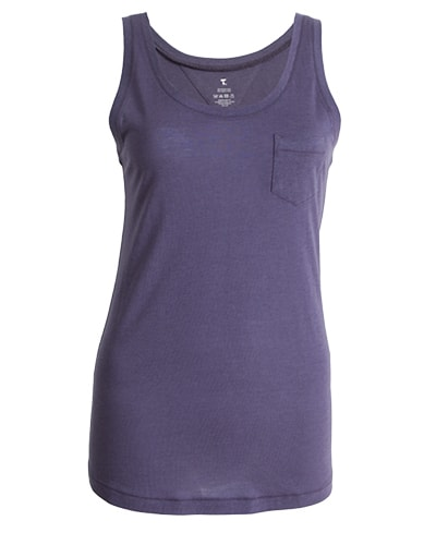 39-434 Tufte Women Summer Tank Top Greystone XL Front