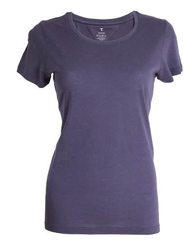 39-515 Tufte Women Summer Tee Greystone Small Front