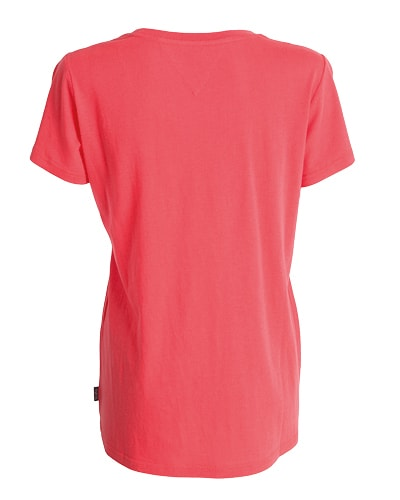 39-520 Tufte Women Summer Tee Hibiscus Small Back