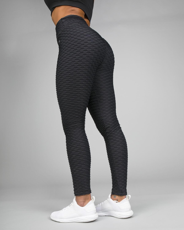 ABS2B Fitness Black Zero Flaw High Rise Leggings11