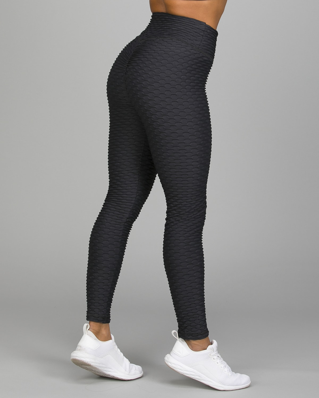 ABS2B Fitness Black Zero Flaw High Rise Leggings3