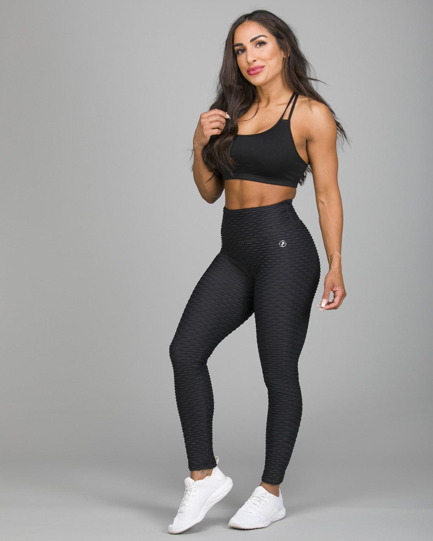 ABS2B Fitness Black Zero Flaw High Rise Leggings5 (1)