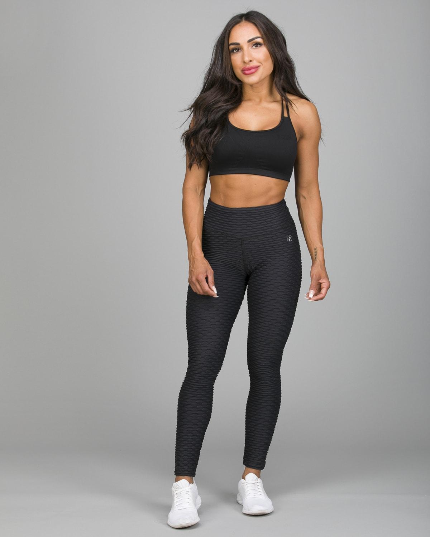 ABS2B Fitness Black Zero Flaw High Rise Leggings5