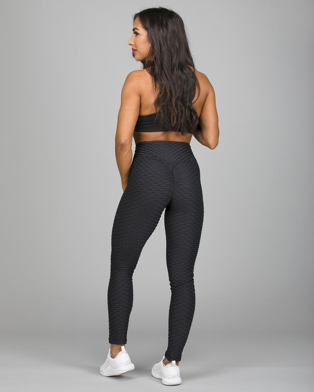 ABS2B Fitness Black Zero Flaw High Rise Leggings6
